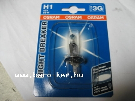 OSRAM NIGHT BREAKER PLUS 12V H1 55W IZZÓ