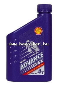SHELL ADVANCE VSX 4T 10W40 1L AX7