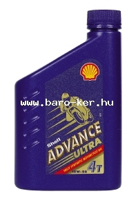SHELL ADVANCE ULTRA 4T 15W50 1L